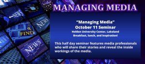 managing media